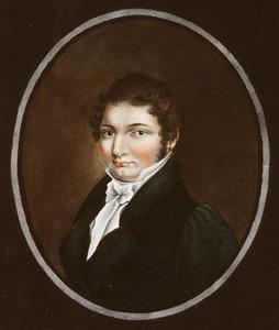Portret van Hendrik Andre Cornelis Tierens (1794-1851)