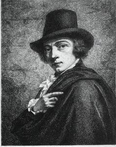 Portret van de kunstenaar Moritz Kellerhoven (1758-1830')