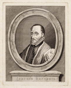 Portret van Joachim Hopperus (1523-1576)