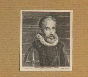 Portret van Maximilian von Habsburg, aartshertog van Oostenrijk