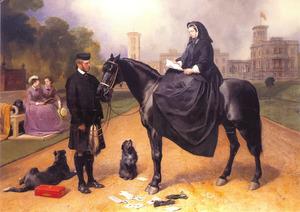 Koningin Victoria op Osborne House