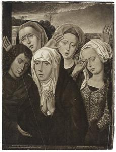 De treurende heilige vrouwen en de H. Johannes