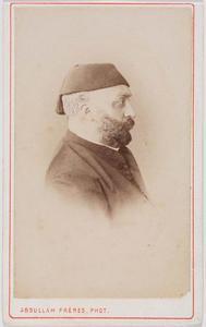 Portret van Sultan Abdulaziz (1830-1876)