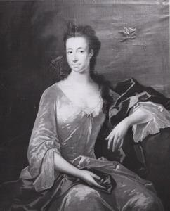 Portret van Maria Beukelaar ( -1751)