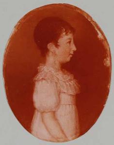 Portret van Esther Marie le Normant (1797-1835)
