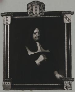 Portret van Hendrik Valckenaer (?-1669)