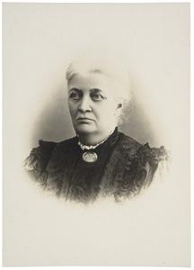 Portret van Dorothea Wilhelmina Beukman van der Wijck (1841-1917)