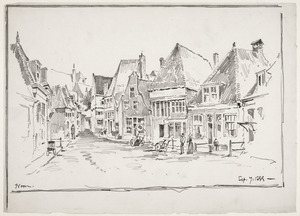 Straat in Hoorn