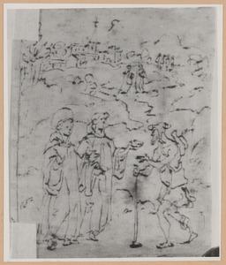 De drievoudig beloonde aalmoes van de H. Gualbertus