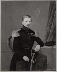 Portret van Lodewijk Alexander de Stürler de Frienisberg (1808-1851)