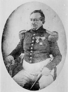 Portret van Pieter Johannes Godefroy (1798-1851)