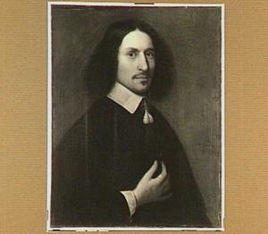Portret van Johannes de Bruyn (1620-1675), hoogleraar Natuur- en Wiskunde te Utrecht