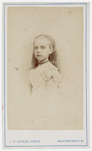 Portret van Helena Gerardina van Voorthuysen (1866-1917)