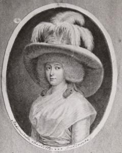 Portret van Charlotte N.N.