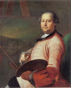 Portret van Christian George Schütz I (1718-1791)