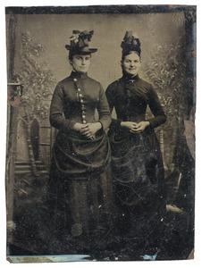 Portret van twee vrouwen