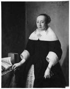 Portret van Lysbeth Jacobsdr. Veen (1640-....)
