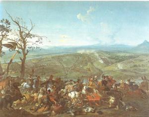 De slag bij Belgrado, 16 augustus 1717: Eugenius van Savoie verslaat het Turkse leger onder Grootvizier Chalil Pasja voor Belgrado