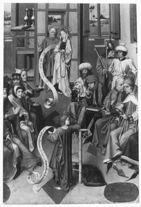 De twaalfjarige Christus onder de schriftgeleerden in de tempel (Lucas 2:41-52)