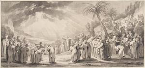 Mozes verkiest de zeventig oudsten