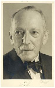 Portret van Max J. Friedländer (1867-1958)