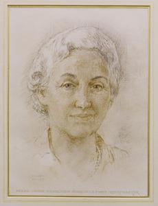 Portret van Paulina Levina Wilhelmina Dijckmeester (1911-1992)