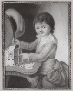Portret van een jongen, waarschijnlijk Jean Guillaume Cazaux (1779-?)
