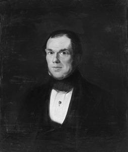 Portret van Johannes van Waning (1808-1850)