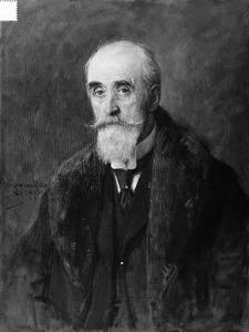 Portret van Pieter Maria George von Fisenne (1837-1914)