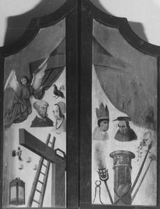 Arma Christi (buitenzijde bovenluiken)