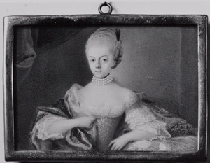 Portret van waarschijnlijk Wilhelmina van Pruisen (1751-1820)