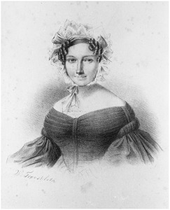 Portret van Volkertina Adriana Heringa (1797-1862)
