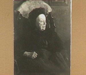 Portret van zijn Grootmoeder