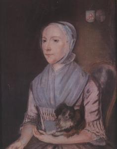Portret van Johanna Henrica Hoogland (1743-1795)