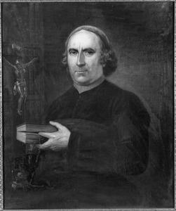 Portret van Paulus van Munnekrede (1758-1826), pastoor te Haarlem