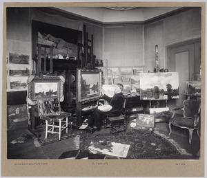 Atelier van Nicolaas Bastert in Nieuwersluis