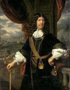 Portret van Mattheus van den Broucke (1620-1685)