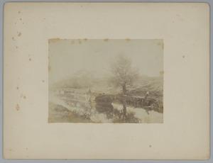 Het kanaal bij de Witte Brug
