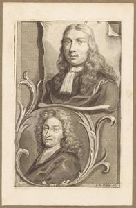 Portretten van Abraham Genoels (1640-1723) en Adriaen van de Velde (1636-1672)