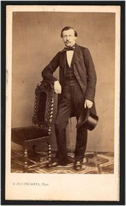Portret van jhr. Daniel Bowier (1826-1885)