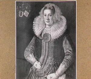 Portret van Geertruid van Engelstede (1584-1643)