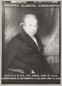 Portret van Johannes Clarisse (1770-1846)