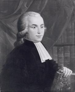 Portret van Steven Jan van Geuns (1767-1795)