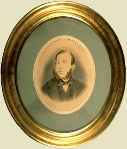 Portret van Abraham Nicolaas Jan van de Poll (1819-1870)