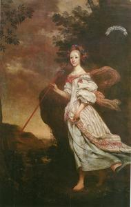 Portret van Maria Maximiliana von Sternberg (1641 - 1665)