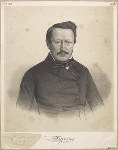Portret van Frederik Willem Conrad (1800-1870)