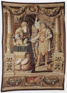 Marcus Antonius ontvangt de schatten van Egypte