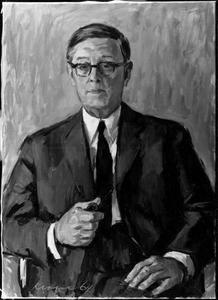 Portret van Piet de Boer (1894-1974)