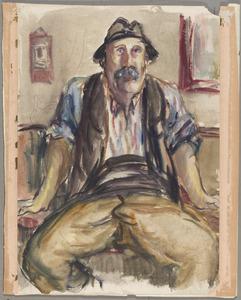 Portret van een boer uit de Provence