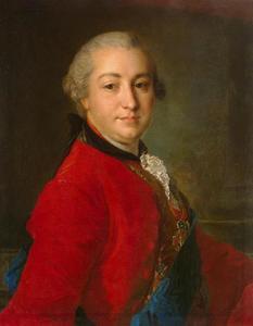 Portret van graaf Ivan Ivanovich Shuvalov (1727-1797)